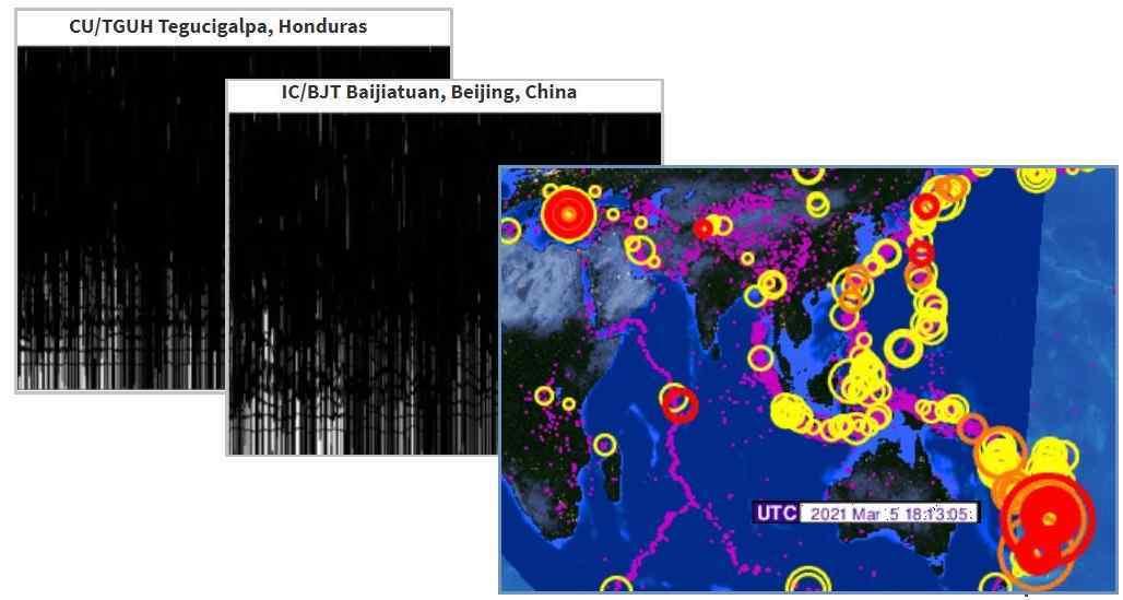 New Zealand mega quakes